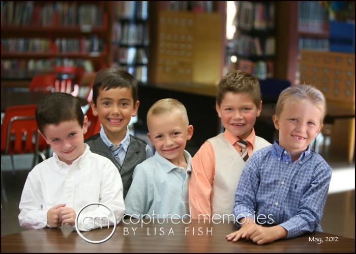 5 boys