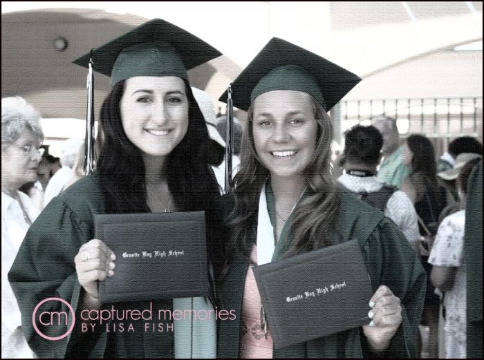 Rachel and Michele-2013 Graduation